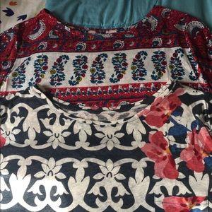 Loft XXL Linen Cap-sleeve T-shirt bundle
